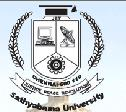 Logo of Sathyabama University